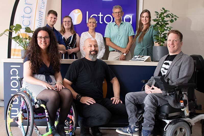 Ictoria voor IGNITE awards, met coach